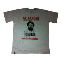 Camiseta Camisa Rap Outlaw El Patron Estilo Thug Nine