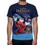 Camisa, Camiseta Disney Fantasia - Estampa Total