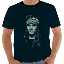 Camiseta Axl Rose Guns N Roses 2