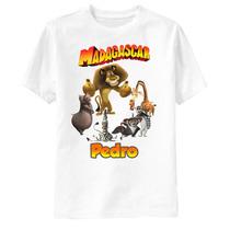 Camiseta Personalizada Madagascar - Turma