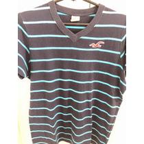 Camiseta Hollister Original - Semi Nova M