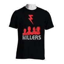 Camisa The Killers Camisetas Banda De Rock Rock In Rio