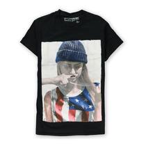 Tony Hawk Mens Bigode Gráfico Da Menina T-shirt