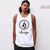 Camiseta Regata Volcom A Melhor Personalizada Promoção