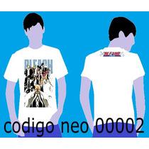 Camisa Bleach Anime Manga Anime Desenho Japonês