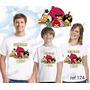 Lembrança De Aniversario Angry Birds Camiseta Com 3