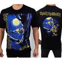 Camiseta De Banda - Iron Maiden - Fear Of The Dark
