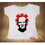 Camiseta Feminina Gola Canoa Flea Anthony Kiedis Red Hot