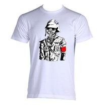 Camiseta Zumbi Nazista Nazi Zombie Guerra Tam: P Ao Gg
