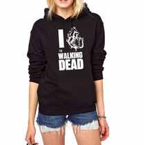 Blusa Moletom The Walking Dead Canguru Com Capuz!