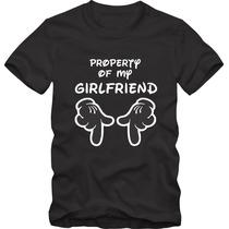 Camiseta Personalizada Engraçada - Mickey Namoro