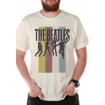 Camiseta Masculina Oficial The Beatles Jump - Bandup!