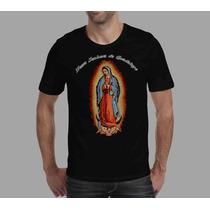 Camiseta Religiosa Católica Nossa Senhora De Guadalupe