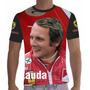 Camisa Camiseta Formula 1 Ferrari Niki Lauda