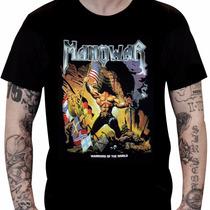 Camiseta Manowar - Warriors Of The World (preta)