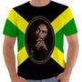 Camiseta Bob Marley Rebel Legend Reggae Jamaica Jah