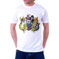 Camisa, Camiseta Desenho Hora Da Aventura Adventure Time