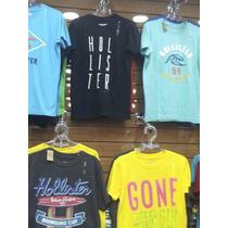 Kit10 Camisetas Camiseta Hollister-abercrombie 100% Original
