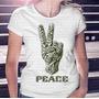 Camiseta Pronta Entrega Feminina Peace