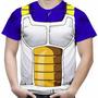 Camiseta Masculina Vegeta Dragon Ball Fantasia Estampa Total