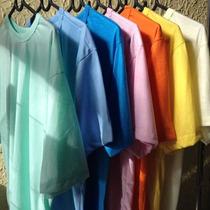 Kit 10 Camisas Colorida Personalizada Igreja, Empresa,evento