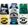 Kit C/ 5 Camisetas Hollister Abercrombie Masculina Atacado