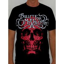 Camiseta Bullet For My Valentine - Skull