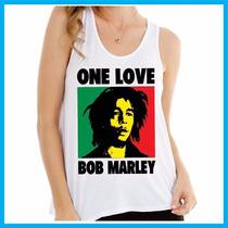 Regata Feminina Bob Marley, Reggae, Banda, Música, One Love