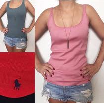 Blusas Feminina Armani Polo Ralph Lauren Regata 100%original