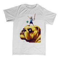Camisetas Infantil Hora De Aventura - Finn, Jake E Bmo