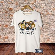 Camiseta Masculina Friends Série Sátira Charlie Minduim