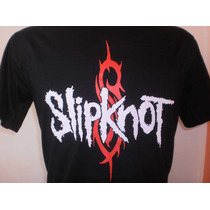 Camisas Slipknot - Frete Barato! - Tecido Algodão Fio 30.1