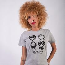 Camiseta Adinkra - Moda Afro