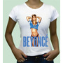 Beyonce Pop Camiseta Camisa Personalizada Cantora Hiphop Plt