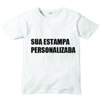 Camiseta Camisa Personalizada Estampa A3 Sublimação Empresa