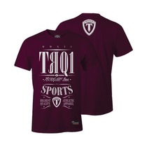 Camiseta Torque Trq Vinho Mma- Ufc-venum-jiu Jitsu -s/juros