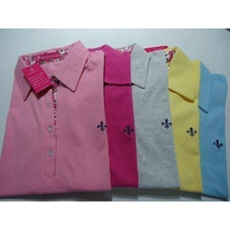 Kit 5 Unidades Camisa Polo Feminina Pronta Entrega
