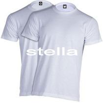 Camiseta Branca Lisa 100% Poliéster Para Sublimação