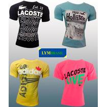 Kit C/10 Camisetas Atacado | Nike| Adidas | Calvin Klein |