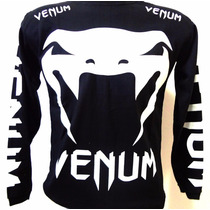Camiseta Venum Jiu Jitsu Manga Longa Inverno Camisa Mma Ufc