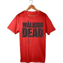 Blusa Camisa Camiseta The Walking Dead - Pronta Entrega