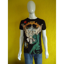 Camiseta Ed Hardy By Christian Audigier - Original - Nova