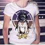 Promoção! Camiseta Feminina Pug Vader