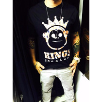 Camiseta Da Kings Snearks 100%