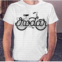 Camisa Estampa Masculina Bike Rodar