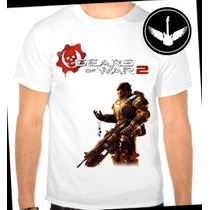 Camiseta Gears Of War 2 Baby Look Regata Game Jogo Blusa