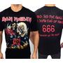 Camiseta De Banda - Iron Maiden - The Number Of The Beast