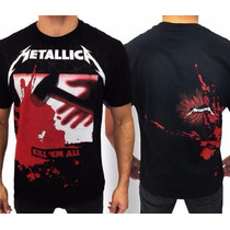 Camiseta De Banda - Metallica - Kill