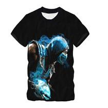 Camisa,camiseta Sub Zero - Estampa Total Malha Fria