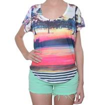 Blusa Roxy Especial Pop Surf